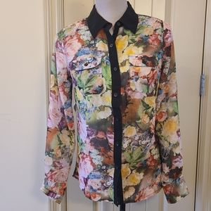 🔥ADDITIONAL 75%OFF Floral Button Down Shirt